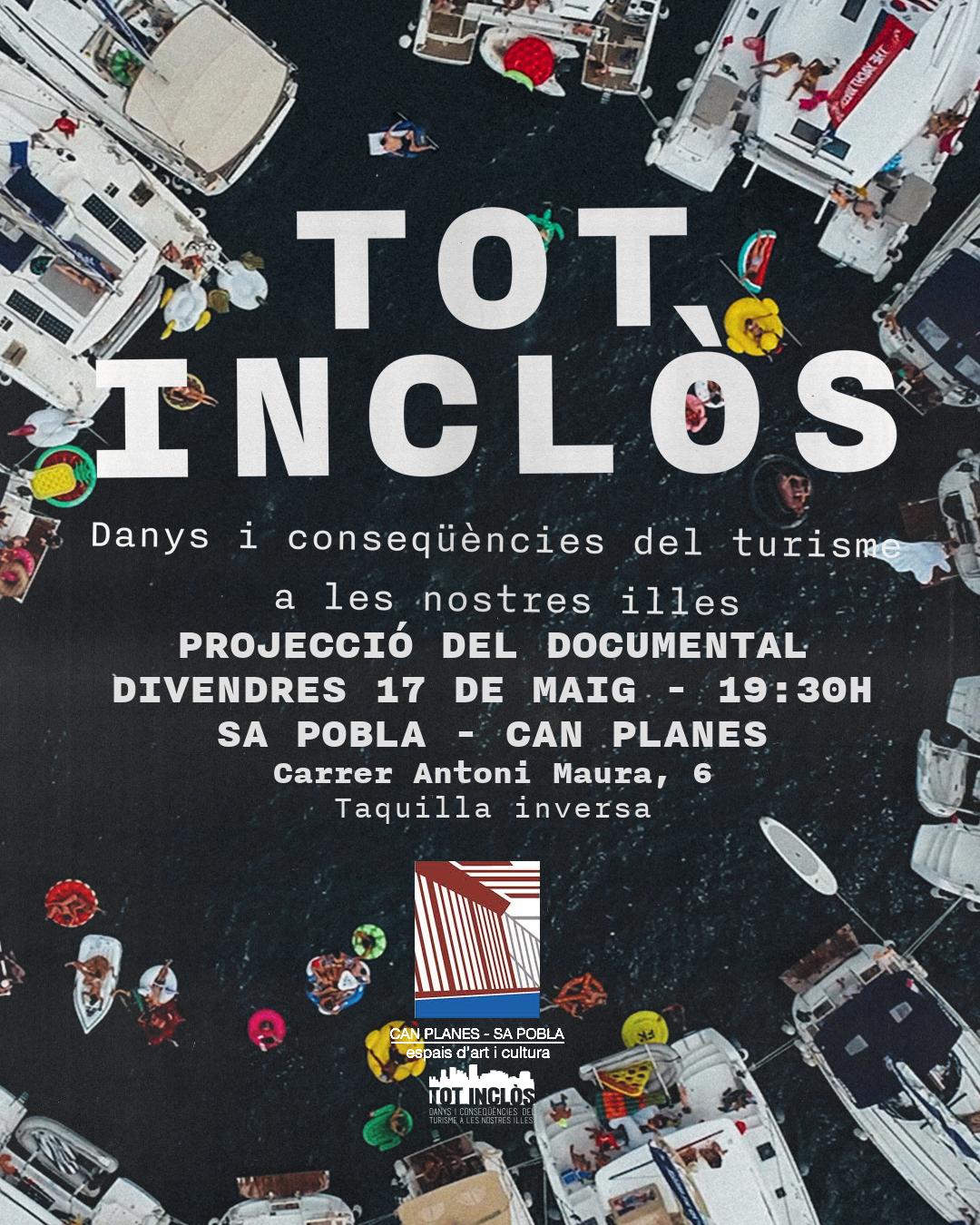 """Presentació de """"Tot Inclòs"""" a Sa Pobla (17-05-19)"""